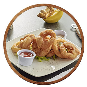 Onion & Calamari Rings
